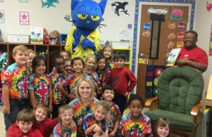 Kindergarten with Pete the Cat